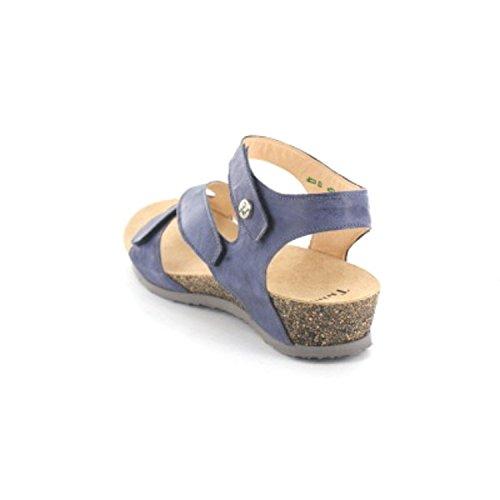 Think! DUMIA 01 6-86370-84 Damen Sandalette Blau