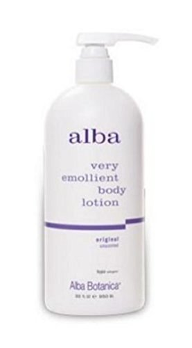 Alba Botanica Very Emollient Body Lotion, Unscented,2-pack,