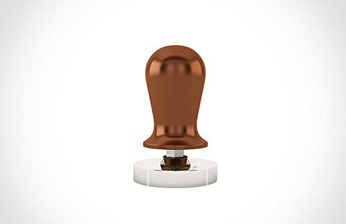 Calibrated Espresso Tamper (grooved, small handle)