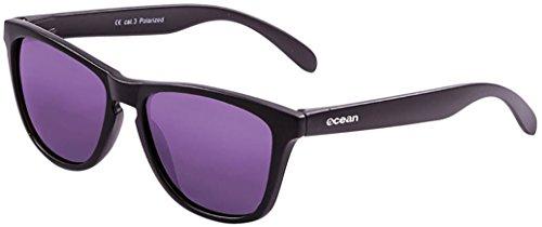 Negro Unisex Talla revo única Violeta Sol transparente Negro Color Amarillo de Ocean Sunglasses Gafas Sea qwxnRTTvS