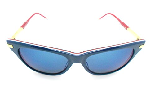 thom-browne-tb-506c-navy-gold-sunglasses-with-blue-lenses