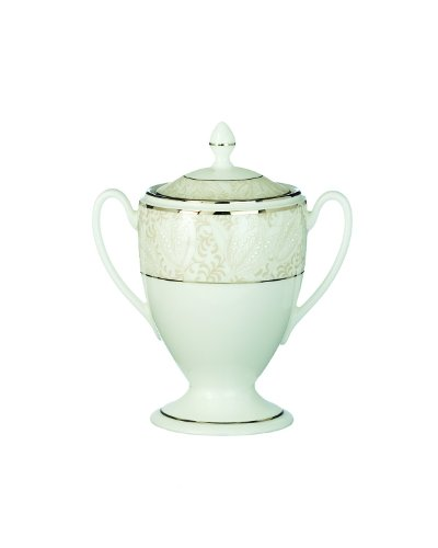 Covered Sugar Waterford Bowl - Waterford Bassano Covered Sugar, 8-Ounce