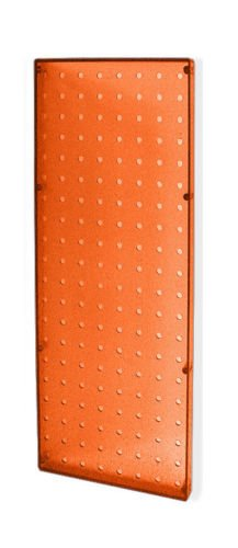 Count of 2 New Orange Molded Plastic Pegboard 8'' Width x 20'' High Wall Panels by Pegboard