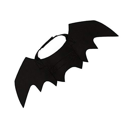 FanSi Cat Costume Halloween Bat Wings Pet Costumes