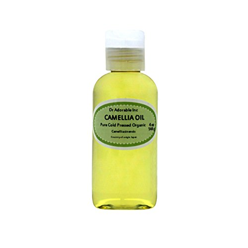 Organic Pure Carrier Oils Cold Pressed 4 oz (Camellia Oil)