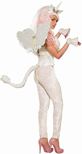 Forum Novelties 80425 White Unicorn Hooves Costume Accessory (2 Pieces), One Size, Multicolor]()