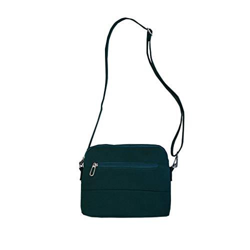 Basic Messenger - Sameno School Bag ✿ Basic Messenger Bag for Elementary School Kids Lightweight Canvas Bookbag Sameno School Supplies