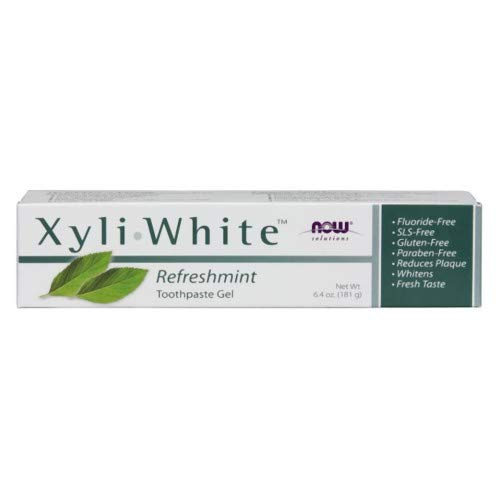 Now Foods Xyliwhite Refreshmint Toothpaste Gel, 6.4 Oz (Pack of ()