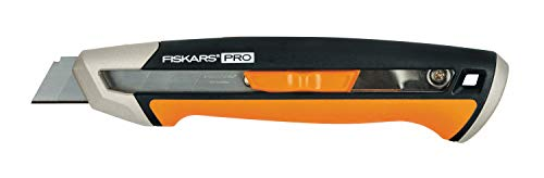 Fiskars 1027227 Cutter de Cuchillas Separables, Naranja/Negro