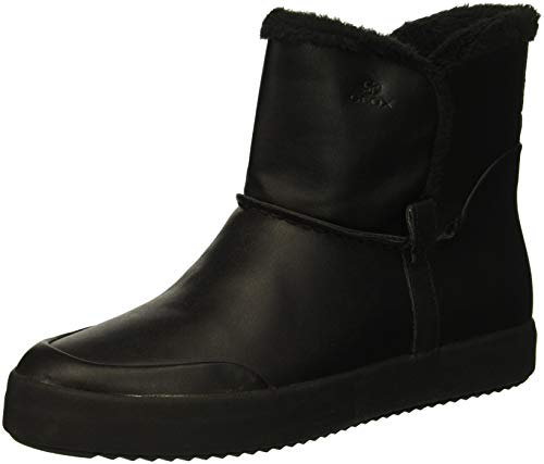on Black 6 Slip Boot Geox Blomiee Women's Ankle B8qHx4Sfw