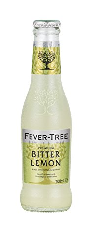 Fever-Tree Premium Bitter Lemon, 6.8 Ounce Glass Bottles (Pack of 24)