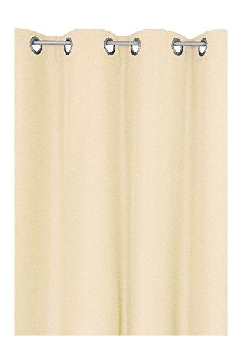 Schlaufen oder Ösenschal - Vorhang-Gardine Maßanfertigung im Unidesign Weiss 120cm x 320cm Schlaufenschal , Farbe und Größe wählbar B01N2IBQ4G Gardinenschals