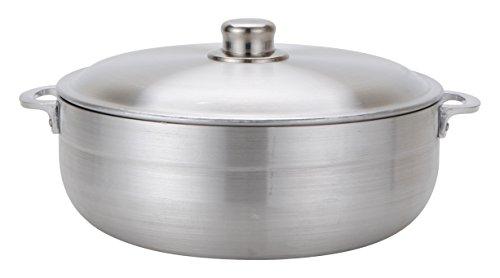 Aramco Alpine Gourmet Aluminum Caldero, 11 quart, Silver by Aramco (Image #1)