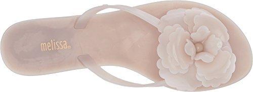 0298f37abc8e Galleon - Melissa Womens Harmonic Flower Flip Flop Sandal White ...