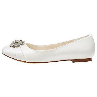 de elegante de rosa otoño satén fiesta Stretch azul soporte otros rufflesblack tarde soporte y de verano primavera de de y Cómodo cristal zapatos talón vestido las mujeres pisos boda f5qXSWwT