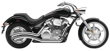 Cobra 10-19 Honda VT1300CX Speedster Swept Exhaust - Swept Exhaust