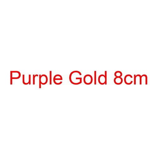 Altos Purple Boda 8cm Tacones Oro Bombas De del Plata De del Mujeres Tacón De Grande VIVIOO Estilete Mujeres Zapatos Gold Pequeño Alto Las Zapatos Brillo BFqxz