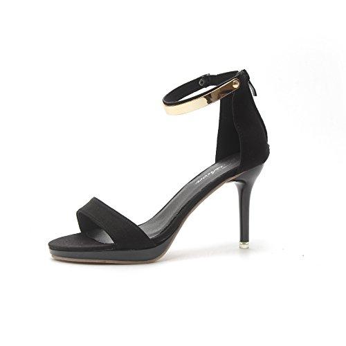sandalias y zapatos zapatos Donyyyy de verano tacones nine mujer alto altos de de tacón Thirty nznqIg