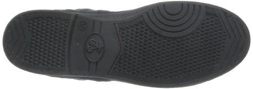 Le Temps des Cerises Basic 03 - Zapatillas de Deporte de tela mujer negro - Noir (Matelasse Black)