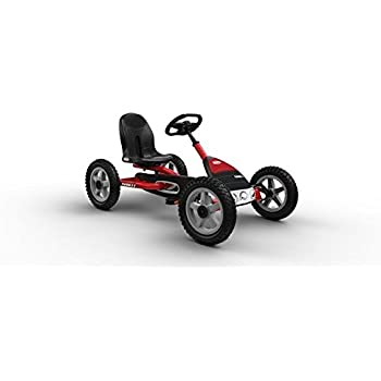 BERG Toys Case-IH Buddy TRAXX Edition Pedal Go Kart with Easier to Pedal Functionality