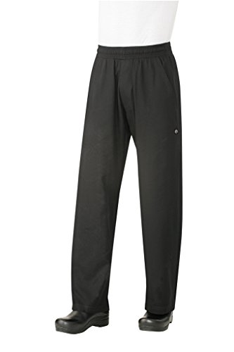 Chef Works Men's Better Built Baggy Chef Pant (BSOL) by Chef Works