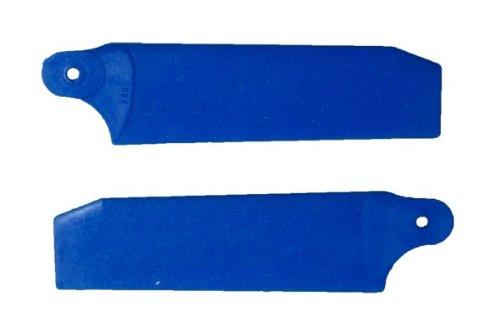 KBDD 500 Size Midnight Black Tail Blades 72mm w/5mm Root