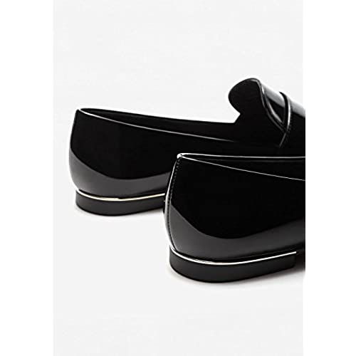 3e83329c23b 60%OFF Mango Women s Patent Loafers - appleshack.com.au