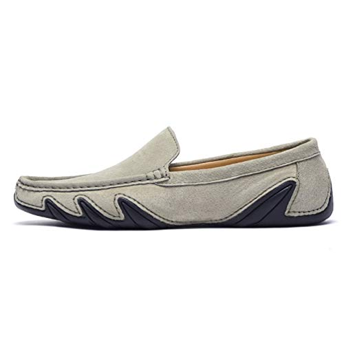 Dress Casual Moccasins Mens Shoes Khaki Boat SUNROLAN Driving Penny On Loafers Suede Slip SnzwX8HqxF