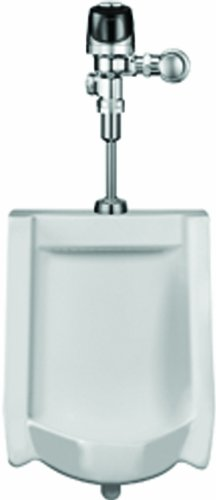 Sloan Valve WEUS-1000.1401-0.13 HEU Wall-Hung Urinal with Optima Plus Sensor Flush Valve, White by Sloan Valve