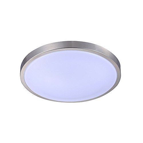 Cloud Fixture - TriGlow LED Ring Cloud Flush Mount Light, 3000k (Soft White), 16