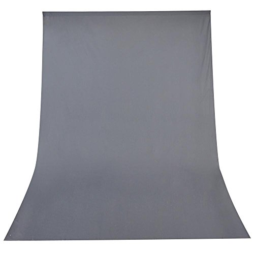 - Gray Muslin Backdrop 100% Cotton Photography Background Photo Studio 10 x 20ft
