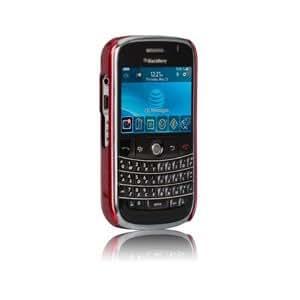 Case-mate BlackBerry Bold 9000 Barely There Case Rojo - fundas para teléfonos móviles (BlackBerry Bold 9000, Rojo)