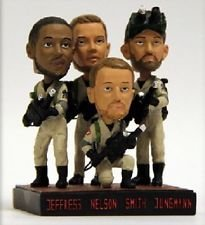 (Milwaukee Ghostbusters Jeremy Jeffress, Jimmy Nelson, Will Smith, Tyler Jungman Movie Bobblehead)