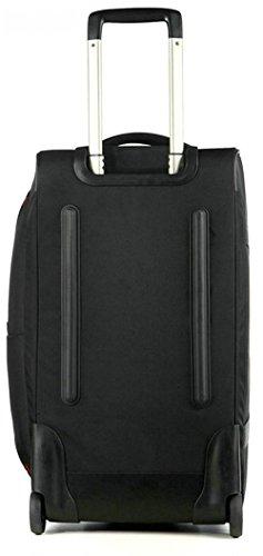 AspenSport Roller Luggage Bag Drop Bottom Wheeled Duffel Bag Travel Bag AS-T10BLK24 by AspenSport (Image #3)
