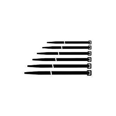 Maurer 13050045-4, 5 x360 Bride en nylon noir (sachet de 100 unité s) 5 x360 Bride en nylon noir (sachet de 100 unités)