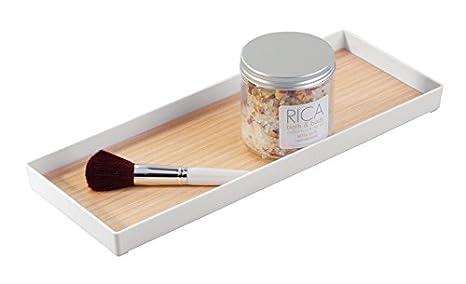 Accessori In Legno Per Bagno : Set accessori da bagno di design in ceramica e legno carsoli