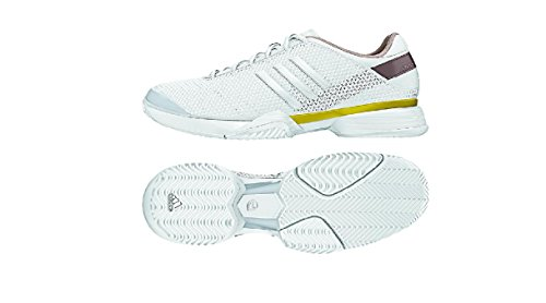 Adidas aSMC Barricade Womens Tennis Shoe White/Gold pictures cheap price DZ1WVw
