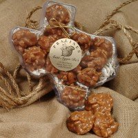 Taste of Texas 12 Mini 1 oz. Creamy Original Praline Sampler by Aunt Aggie De's Pralines