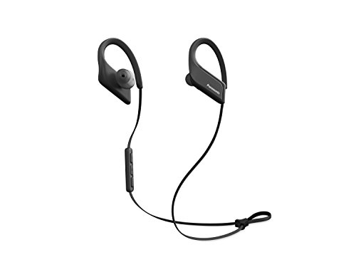 Panasonic Wings Ultra-Light Wireless Bluetooth Sport Earphones Black (Panasonic Earphones Headphones)