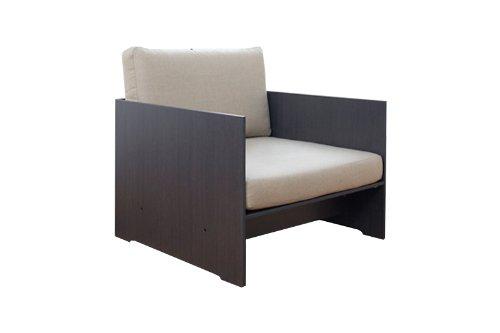 Conmoto - Sessel Riva Lounge - anthrazit