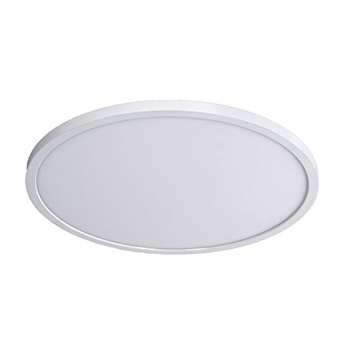 WAC Lighting FM-15RN-930-WT Round Ceiling and Wall Luminaire 3000K, 15 Inches, ()