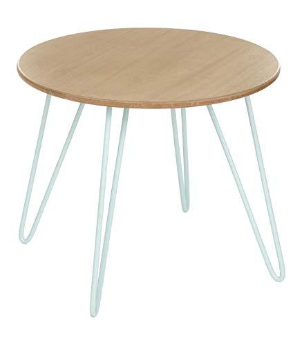 Esprit Coloris Polaire Basse Scandinave Bleu Design Table WD2YIEH9e