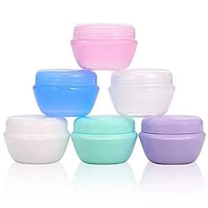 San Jison 20g/20ml Pequeños envases cosméticos vacíos con ...