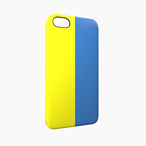 Flag of Ukraine Glossy Hard Snap-On Protective iPhone 5 / 5S / SE Case Cover