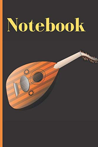 "Islamic / Arabic Art Notebook: Vector illustration of an oud cover Lined Journal / Notebook to write in 120 Pages (6"" X 9"")"