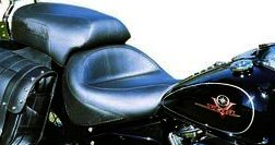 Mustang Vintage Style One-Piece Touring Seat for Kawasaki 2006-2011 Vulcan 900 Classic and 2007-2011 Custom Models