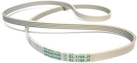 SoloCorreas Megadyne - Correa de Lavadora EL 1195 J5