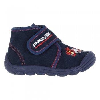 PRIMIGI 82551/00 polacchini pantofole scarpe bimbo primi passi nappa blu