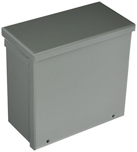 Nema 3r Junction Box - Hoffman A8R84NK NEMA 3R Enclosure, Screw Cover, Galvanized, Painted, 8.00