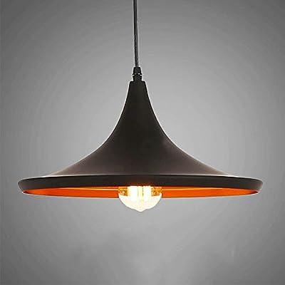 CHAOZAN LED Iluminación colgante pintada industrial del Aluminio ...